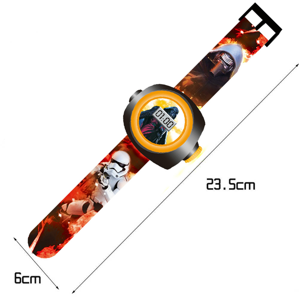 Đồng hồ điện tử đeo tay chiếu hình 3D WLT22L Doraemon
