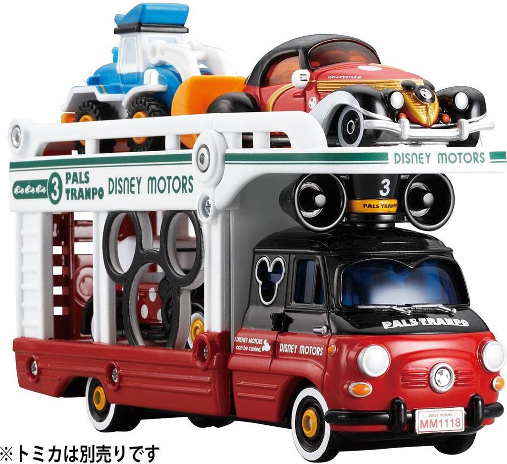 Xe mô hình Tomica chở Disney Motor Pals Tranpo Mickey Mouse