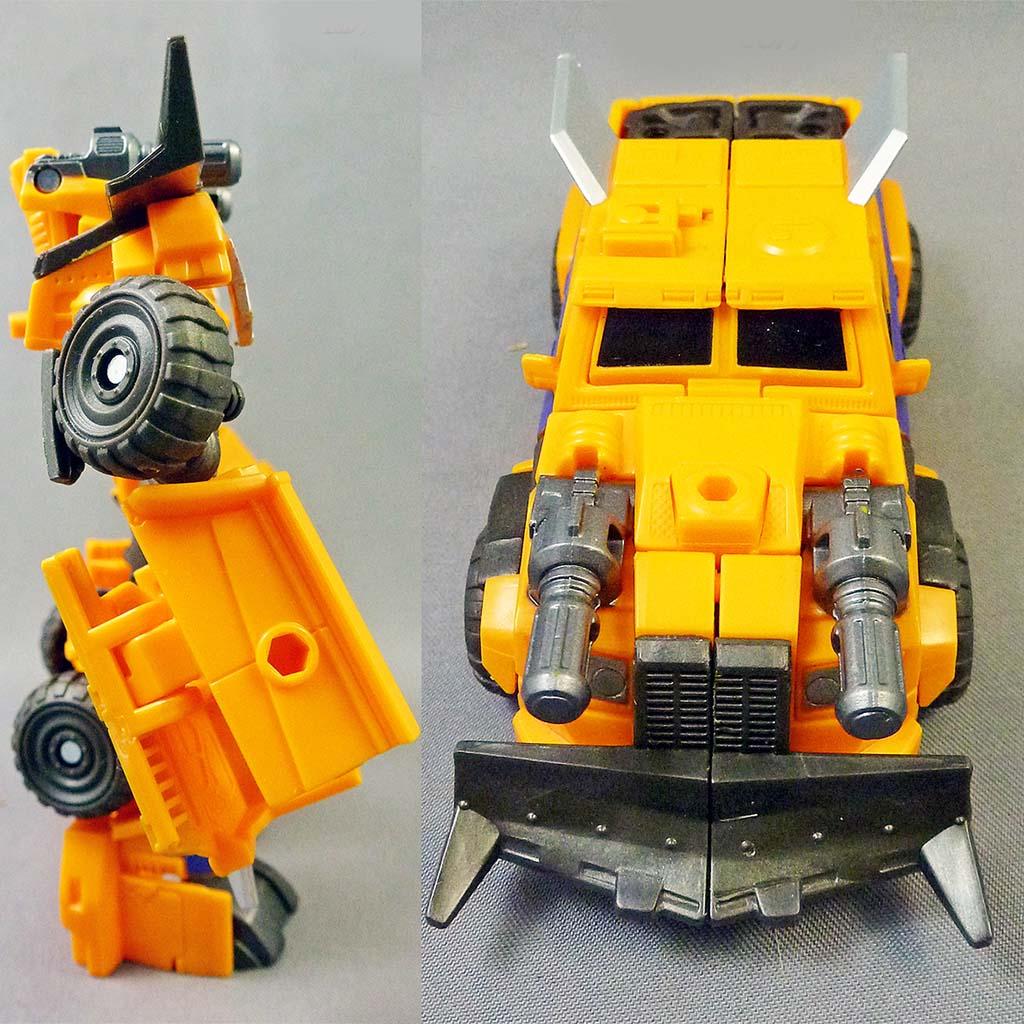 Đồ Chơi Transformer Prime biến hình Beast Hunters Commander - Huffer (Box)