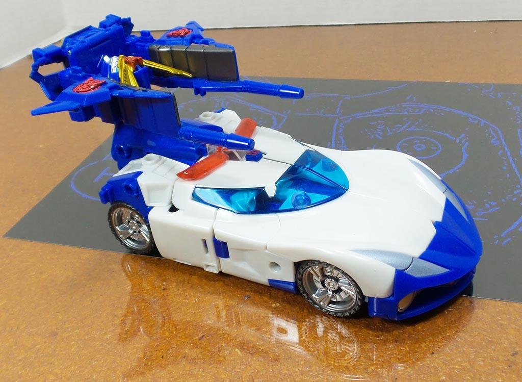 Đồ chơi Robot Transformers Go! G01 KENZAN - Takara Tomy (Box)