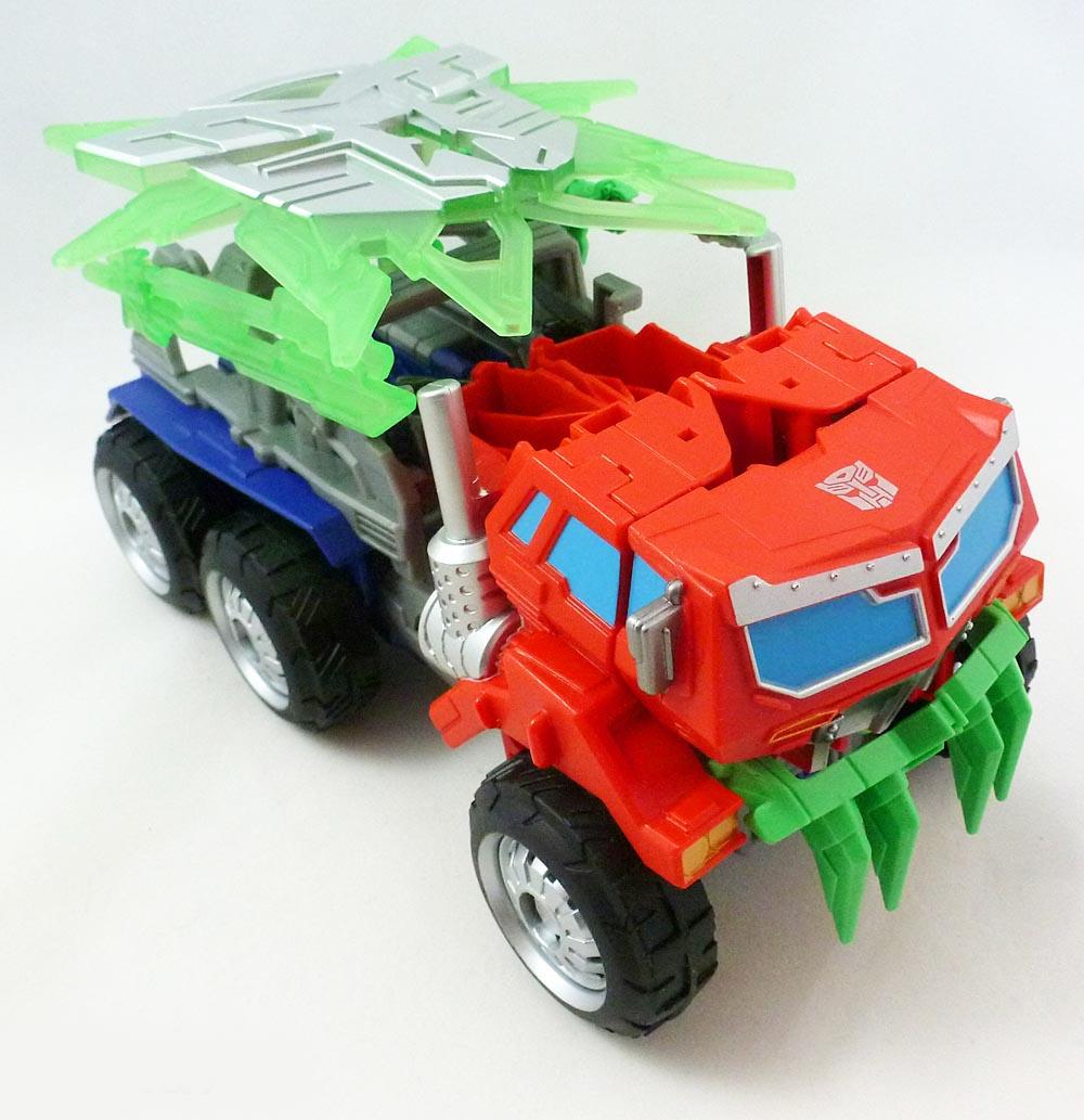 Đồ chơi Transformer Prime biến hình Beast Hunters Optimus Prime - Autobot Leader (Box)