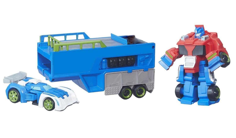 Đồ chơi Robot Transformer Rescue Bots Blurr Figure biến hình ô tô