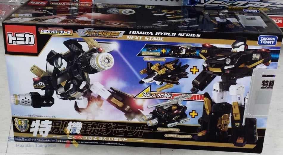 Robot Transformer biến hình Tomica Next Stage - Takara Tomy Hyper Series