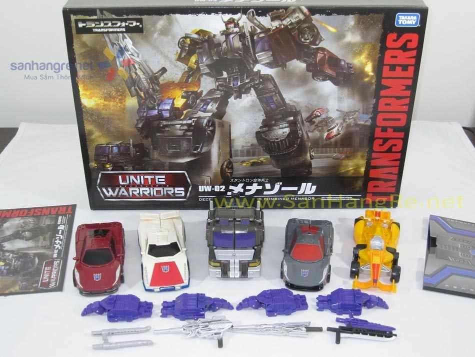 Robot Transformers kết hợp 5 trong 1 Unite Warriors UW-02 Menasor - Takara Tomy