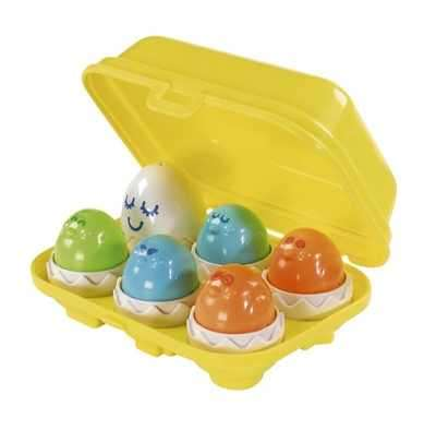 Bộ đồ chơi 6 trứng sắc màu Tomy