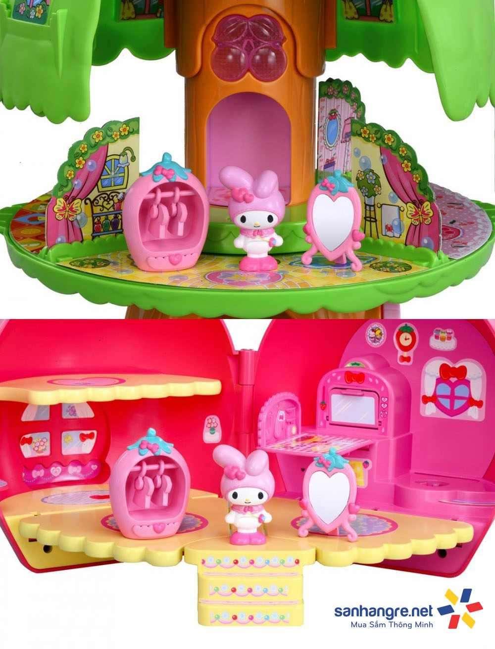 Bộ đồ chơi mô hình Tomy Samrio My Melody dành cho bé gái