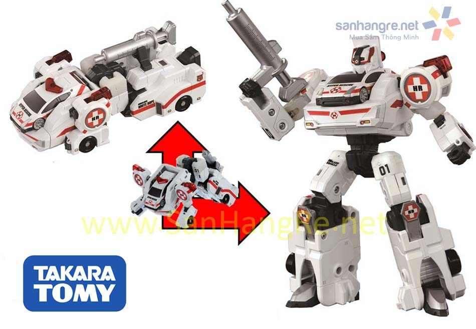 Robot biến hình Ô tô Tomy White Hope