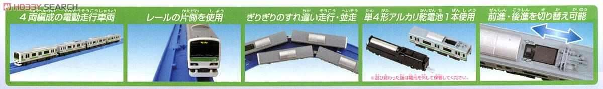 Mô hình tàu hỏa chạy pin Takara Tomy Series E235 Yamanote Line