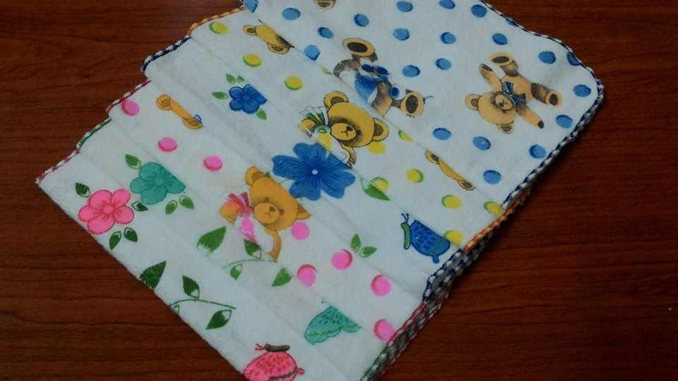 khăn mặt cotton cho trẻ
