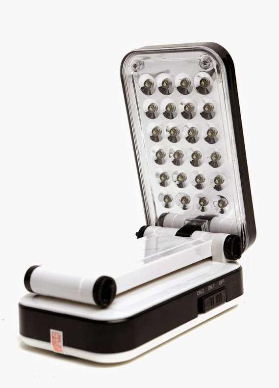 Đèn Led sạc để bàn 24 bóng kiểu dáng Apple