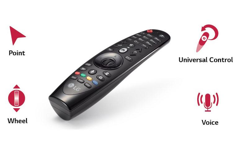 Điều khiển thông minh Magic Remote LG AN-MR650A dành cho Smart TV 2017