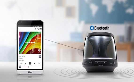 Loa di động Bluetooth LG PH1