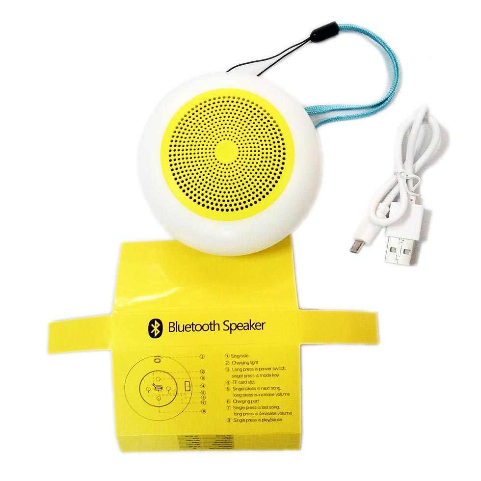 Loa không dây Bluetooth Speaker G16 nháy LED 7 màu theo nhạc