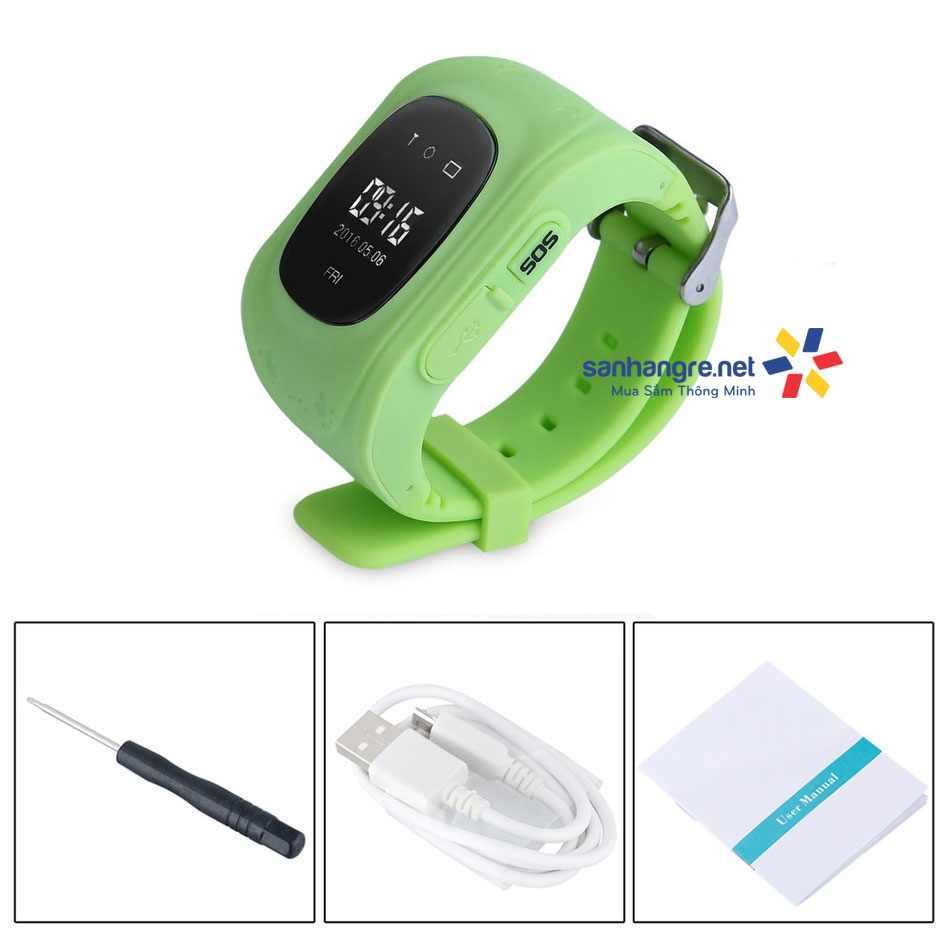 Đồng hồ định vị GPS thông minh SmartKids cho bé yêu