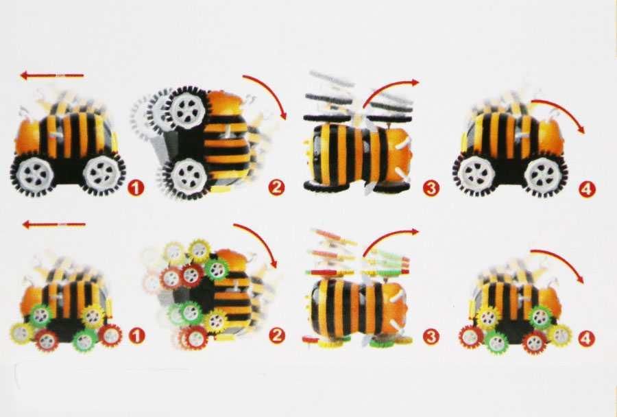 Xe nhào lộn đa năng Nutifood - Con Ong