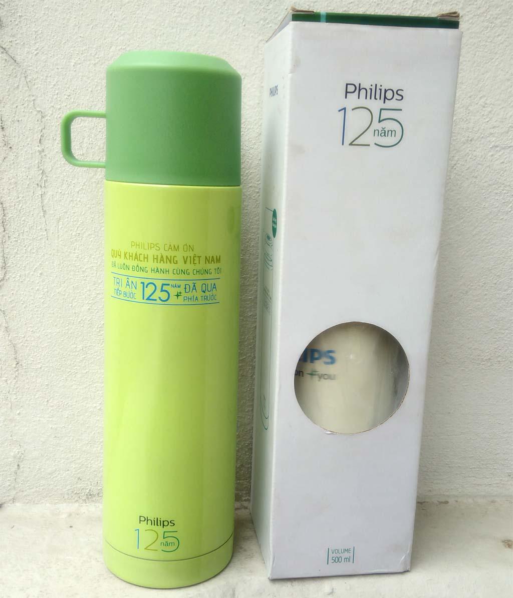 Bình giữ nhiệt 500ml Dong Hwa BKB-048-050 quà tặng Philips
