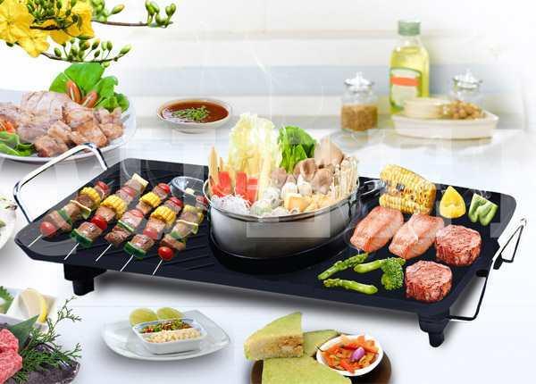 Bếp lẩu nướng đa năng BBQ Queens Sony GR915L