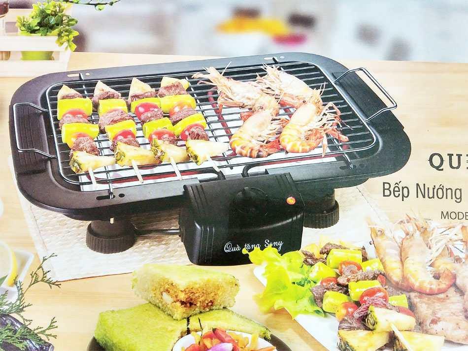 Bếp nướng không khói BBQ1015i Queen Sony