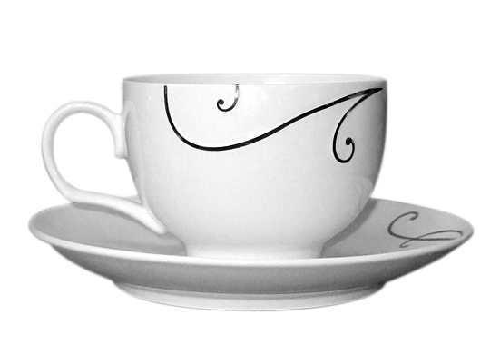 Bộ ấm trà hoa tiên sứ xương Sony