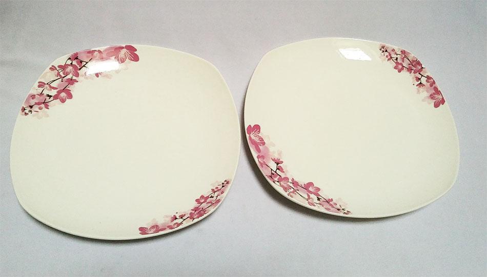 Bộ bát đĩa hoa đào Nhật Bản quà tặng Sony