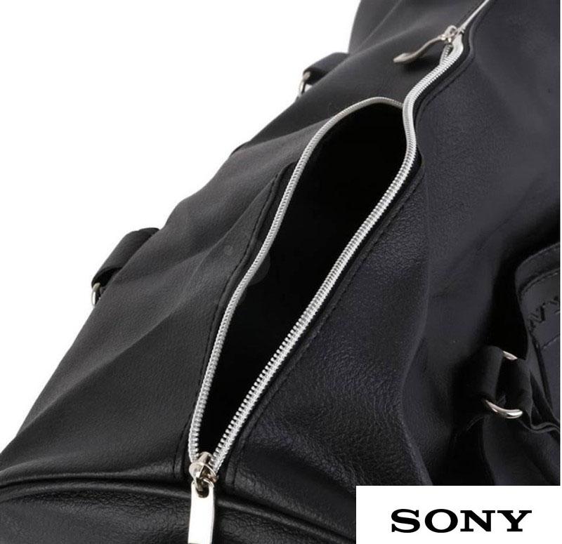 Túi xách du lịch giả da trơn Sony