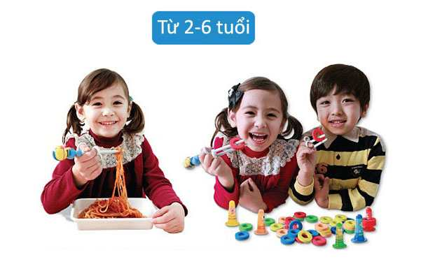 Đũa tập ăn cho bé Polulu hoạt hình 3D Pororo hàng Hàn Quốc