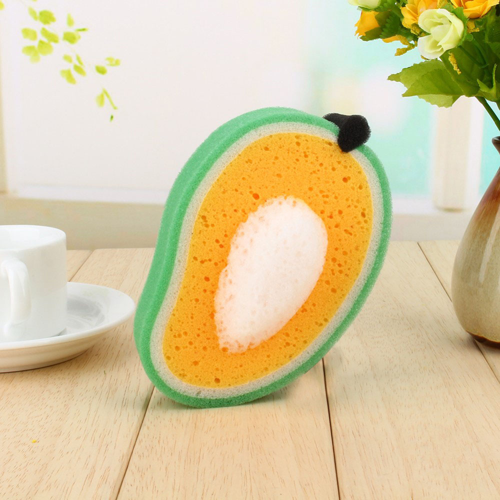 Combo 5 miếng rửa chén bát hình hoa quả Amas