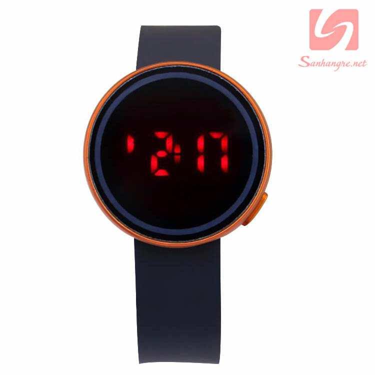 Đồng hồ LED tròn mặt cảm ứng JSS 1797