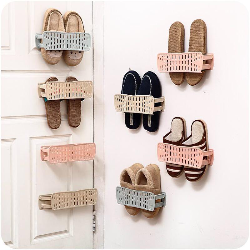 Giá dình tường để giầy dép đi trong nhà tiện dụng