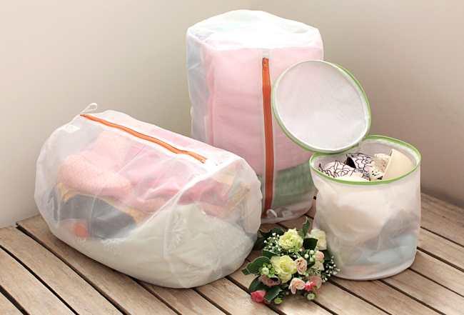 Túi lưới giặt đồ lót 21x32cm hàng Nhật KM-1409