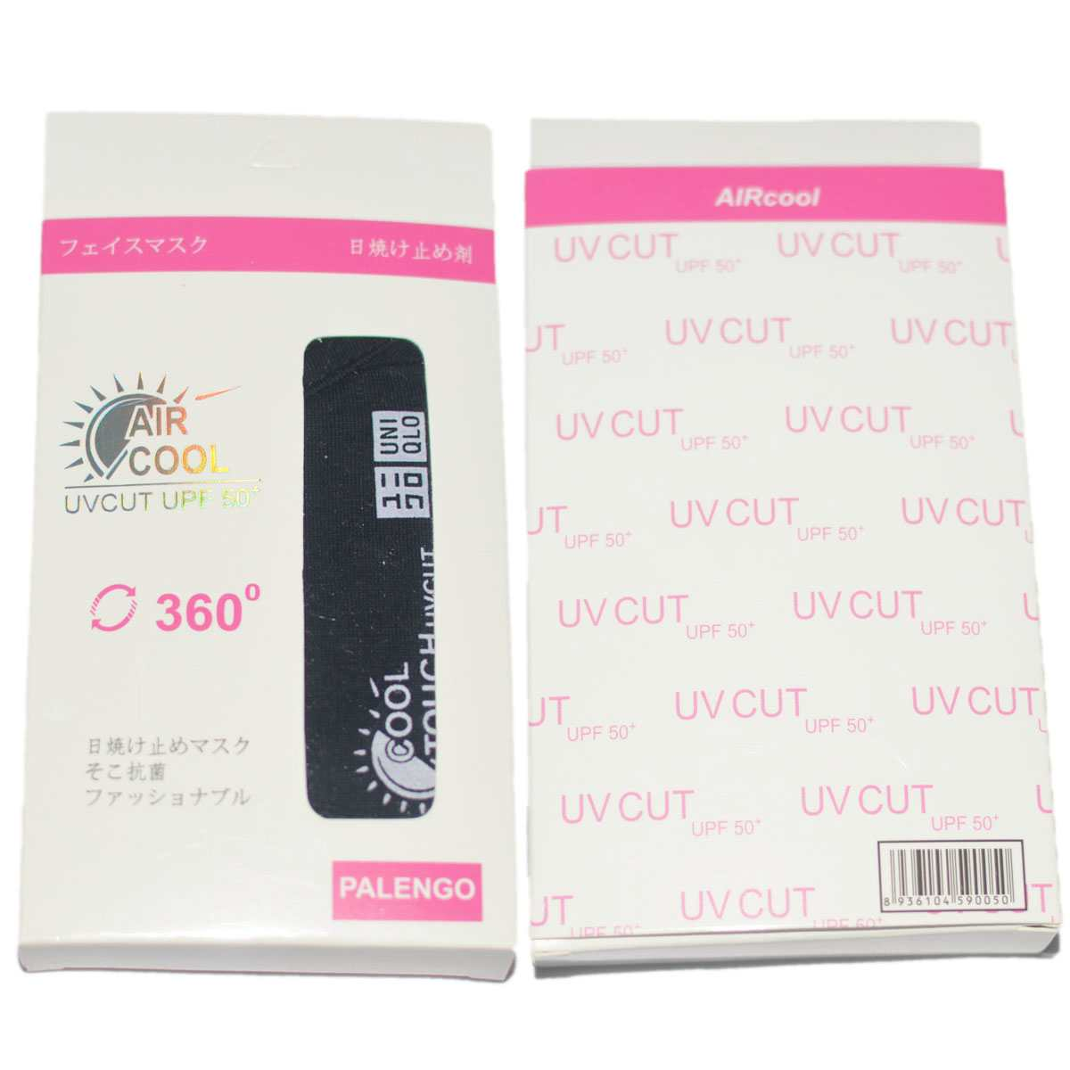 Khẩu trang chống nắng Aircool UV Cut