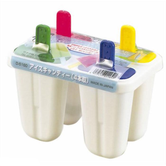 Bộ 4 khuôn làm kem que hàng Nhật