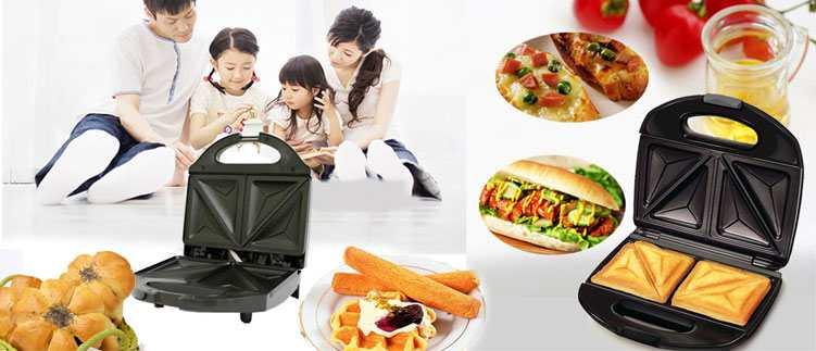 Máy nướng bánh Nikai FS-01 (Đen)