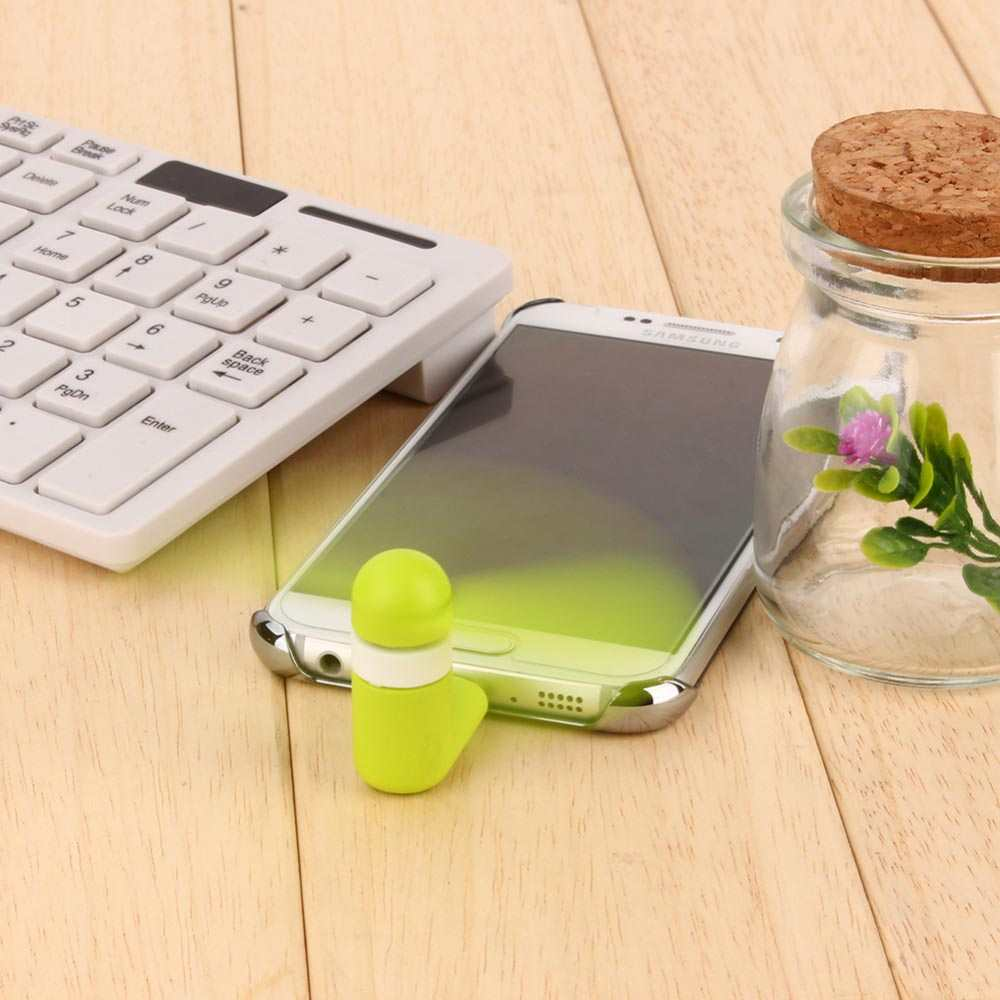 Quạt Mini Usb 2 cánh cắm điện thoại Android, Windows Phone