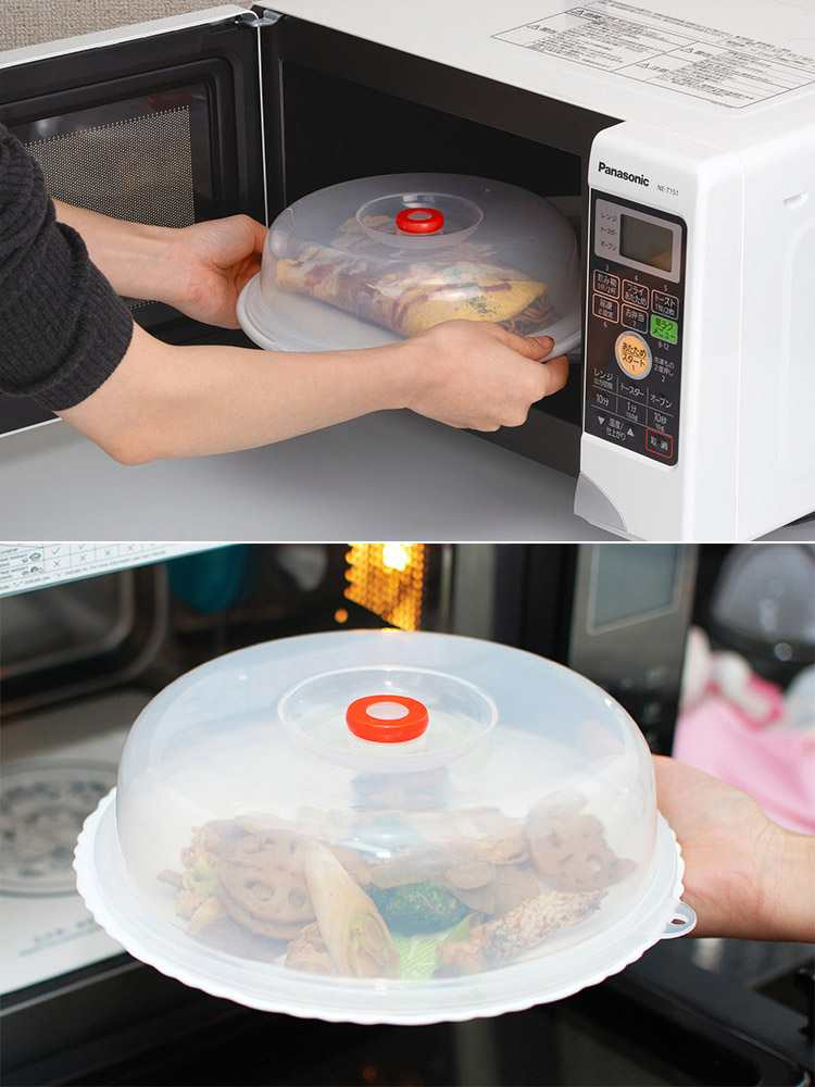 Nắp đậy dùng trong lò vi sóng Inomata hàng Nhật