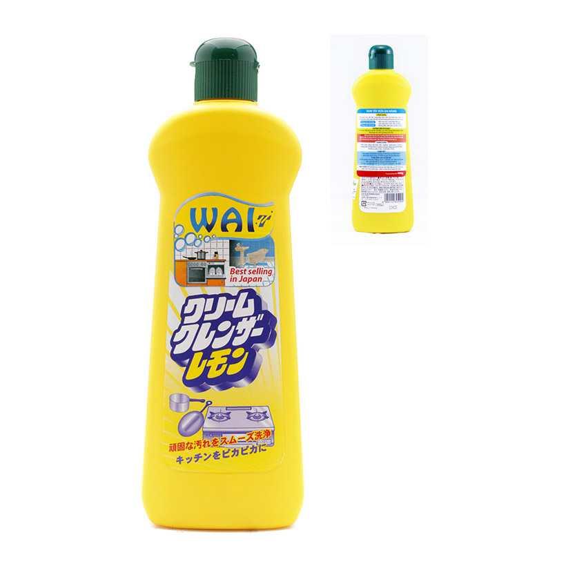 Kem tẩy rửa đa năng Wai 400gr xuất Nhật