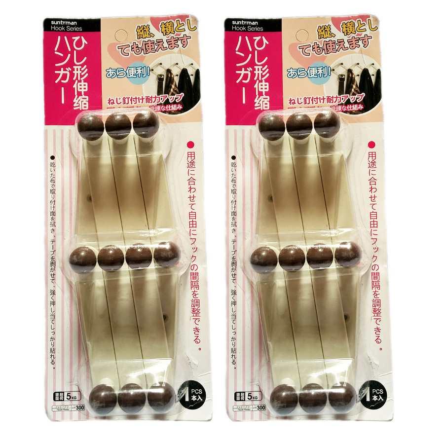 Móc dính tường treo quần áo Suntrman G15-300 hàng Nhật