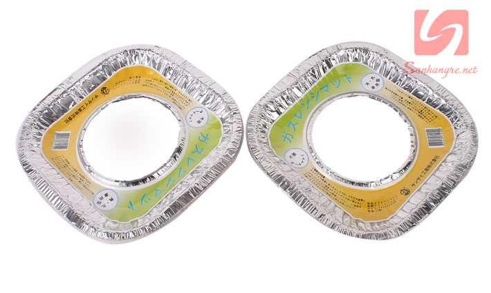 Combo 10 giấy bạc lót bảo vệ bếp Gas khỏi dầu, bụi KM 0041 hàng Nhật