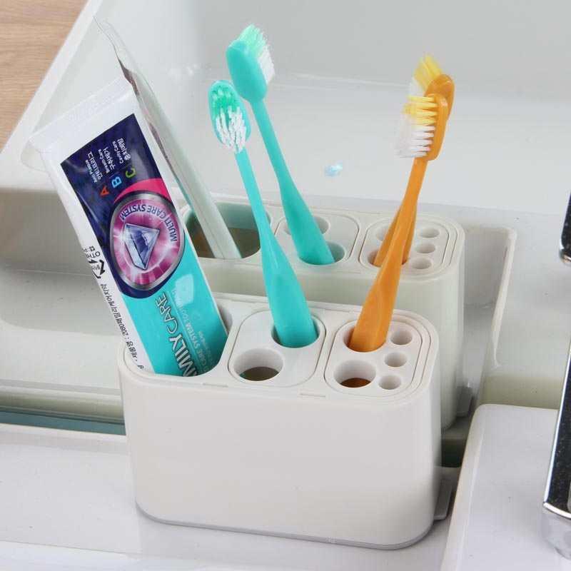 Hộp cắm bàn chải thuốc đánh răng hàng Nhật