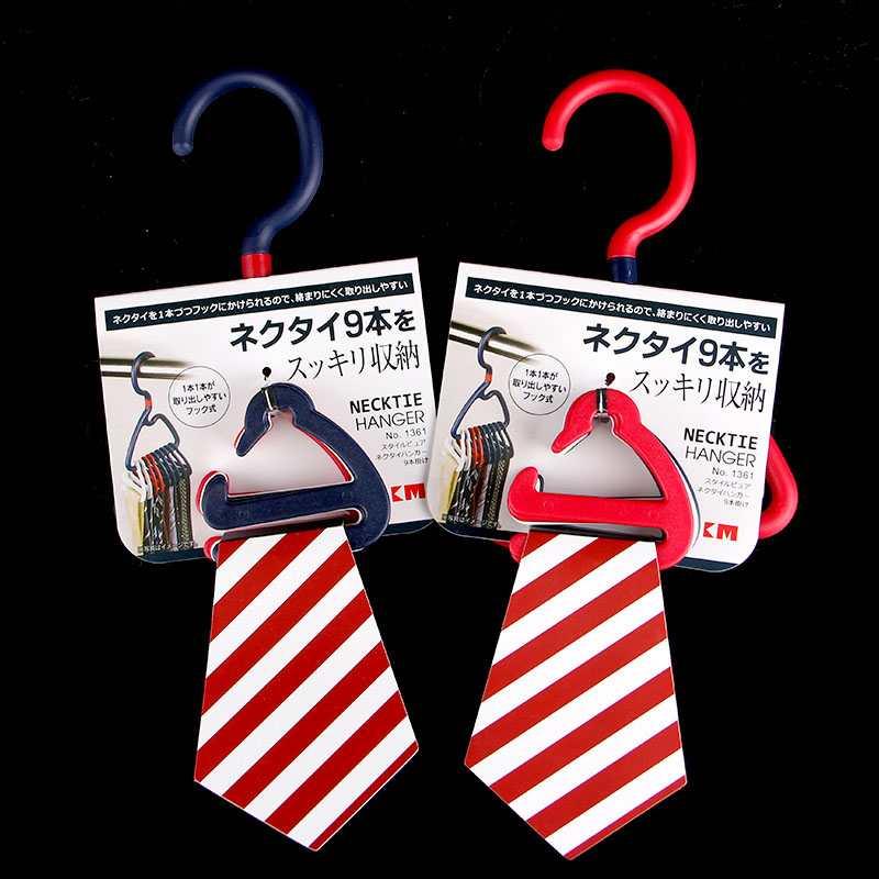 Móc treo 9 cà vạt, khăn mùi xoa KM 1361 hàng Nhật