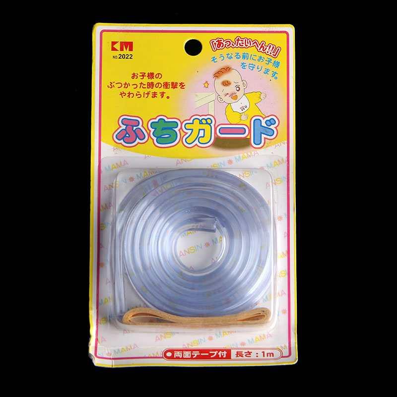 Cuộn dây 1m bọc mép bàn trong suốt KM 2022 hàng Nhật