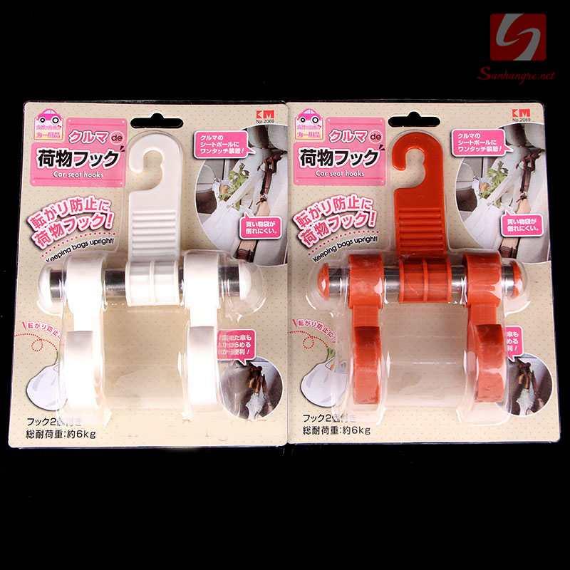Móc treo đồ trên ghế xe ô tô KM 2069 hàng Nhật