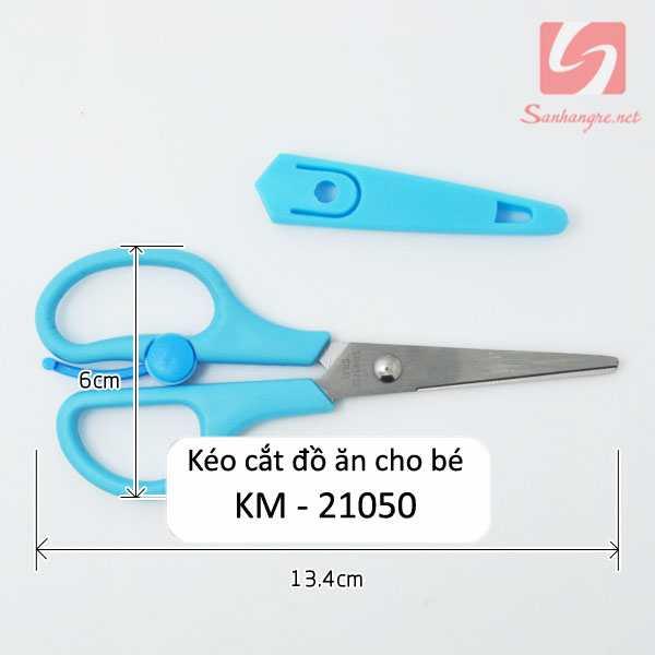 Kéo cắt đồ ăn cho bé KM 21050 hàng xuất Nhật