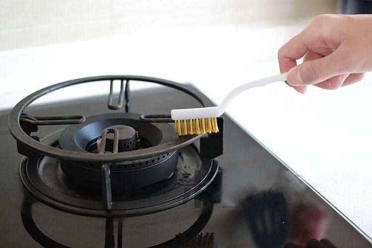 Bộ 3 chổi búi thép cọ rửa bếp KM-577 hàng Nhật