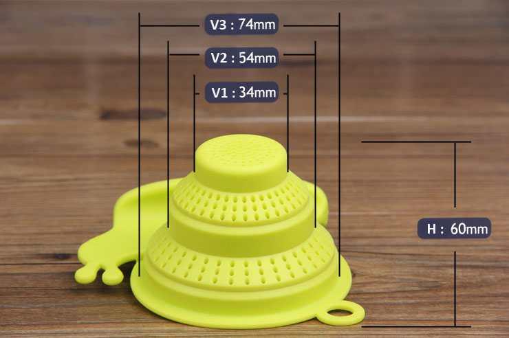 Lọc trà Silicon hình ốc sên KM-1351 hàng Nhật