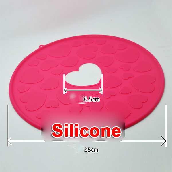 Combo 2 miếng lót nồi cách nhiệt Silicon đa năng KM-1184 hàng Nhật