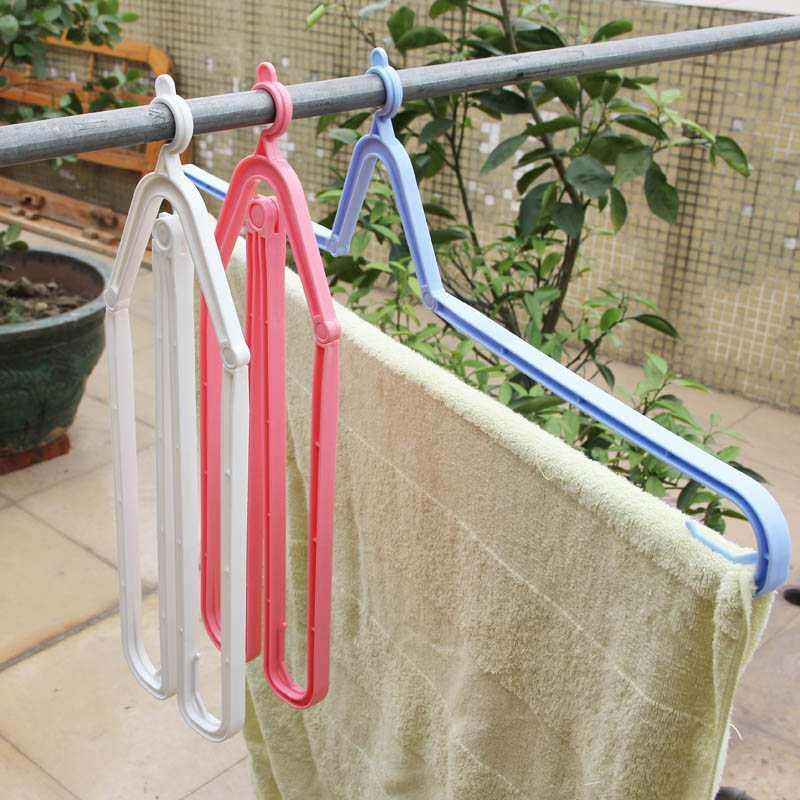 Móc treo khăn tắm gấp gọn Niheshi 6035 hàng Nhật