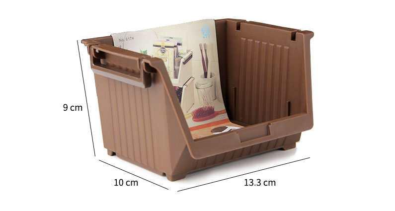 Giá để đồ tiện lợi 13.3x10x9cm Niheshi 6174