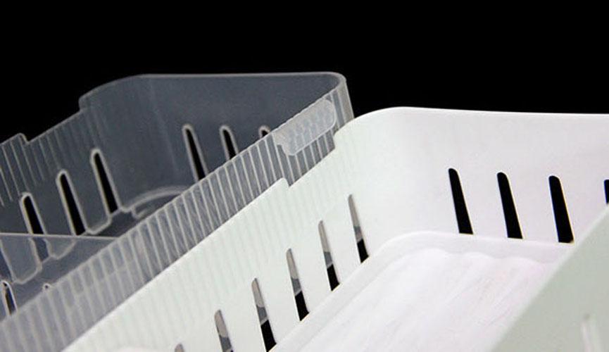 khay nhựa chia ngăn để đồ trong tủ lạnh Niheshi 6209 hàng Nhật