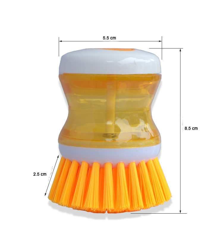 Dụng cụ cọ rửa xoong nồi có bầu chứa xà bông SA7735
